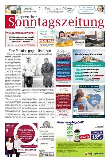 2021-06-06 Bayreuther Sonntagszeitung