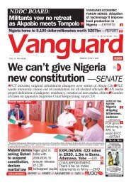04062021 - We can't give Nigeria new constitution —SENATE
