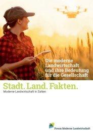 Die moderne Landwirtschaft und ihre Bedeutung für die Gesellschaft