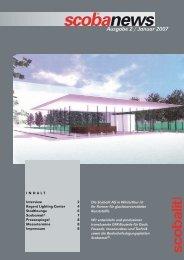 Scobanews Ausgabe 2 / Januar 2007 - Scobalit AG