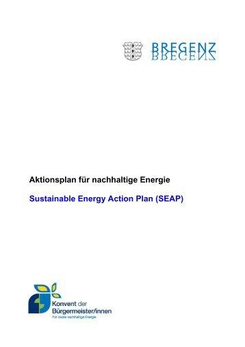 Aktionsplan für nachhaltige Energie Bregenz