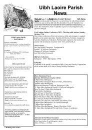 Newsletter 14 - 6th June, 2021