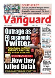 05062021 - Outrage as FG suspends Twitter