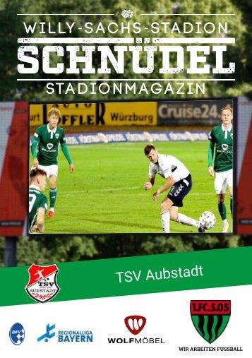 SCHNÜDEL Stadionmagazin Ligapokal Trostrunde Halbfinale TSV Aubstadt