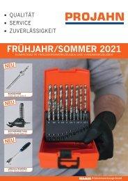 Projahn - Frühjahr/Sommer 2021