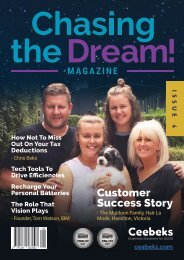 Chasing The Dream! Magazine - Issue 4