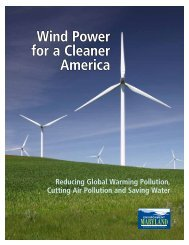 Download Report - Environment Maryland Research and Policy ...