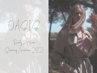 OASIS, Final Fashion Design project by Ariana Serra at Marbella Design Academy.