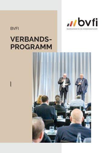 BVFI Verbandsprogramm 2021