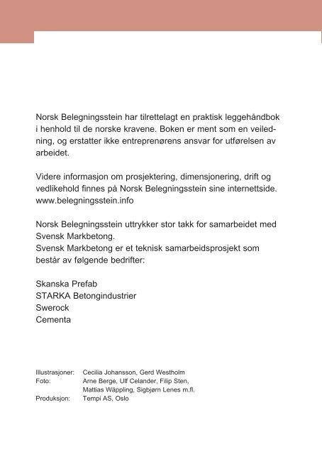 Legging av belegningsstein og heller - Norsk Belegningsstein