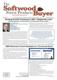 The Softwood Forest Products Buyer - March/April 2021