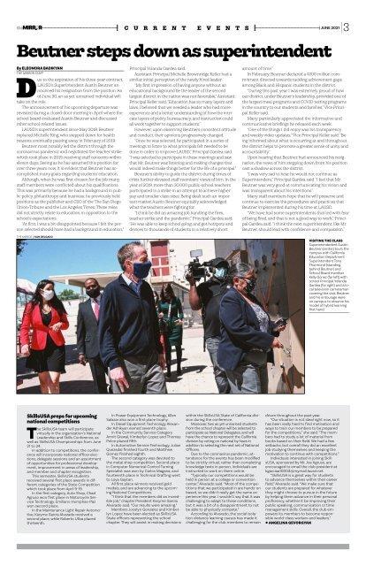The Mirror | Van Nuys High School | June 2021 | Volume 107 |Issue 4