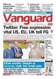 08062021 - Twitter: Free expression vital US, EU, UK tell FG