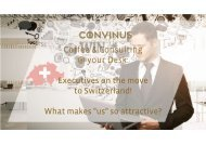 Coffee & Consulting - Executives on the move to Switzerland!