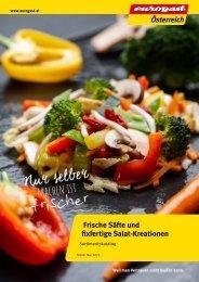 Säfte Salate Dressing Katalog 2021