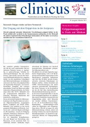 Grippemanagement - Klinikum Freising