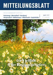 Nürnberg-Katzwang/Worzeldorf/Kornburg/Herpersdorf - JUNI 2021
