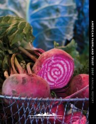 2007 Annual Report - American Farmland Trust