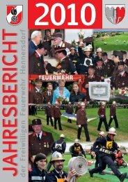 Jahresbericht 2010 (4MB) PDF - FF Hennersdorf