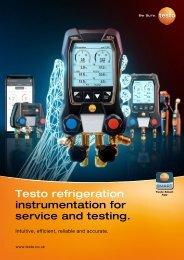 Testo 2021 Refrigeration Brochure