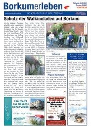 09.06.2021 / Borkumerleben - Die wöchentliche Inselzeitung