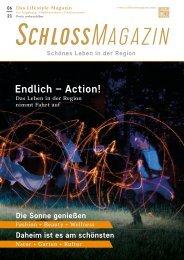 SchlossMagazin Augsburg Nordschwaben + Fünfseenland Juni 2021