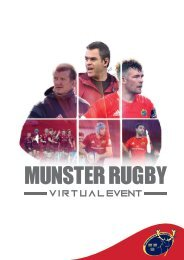 Munster Rugby Virtual Event Brochure