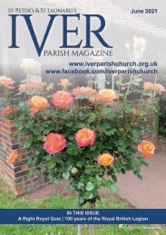 Iver Parish Magazine  - June 2021