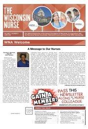 Wisconsin Nurse - June 2021