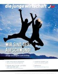 WIR SIND DER AUFSCHWUNG! - Junge Wirtschaft Österreich