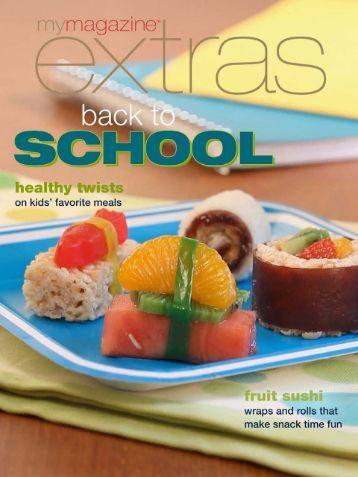 Fruit sushi - MyMagazine extras