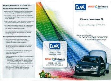 Download Info Folder im PDF Format - Fahrschule Steininger