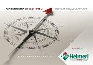 Max Heimerl Bau - Unternehmensleitbild