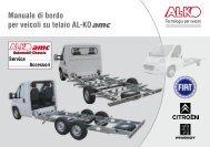 Manuale di bordo per veicoli su telaio AL-KO - Giordano Benicchi ...