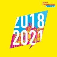 Halbzeitbilanz 2018-2021