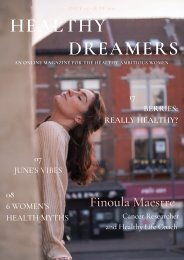 Healthy Dreamers - ISSUE 03 - JUNE 2021