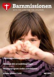 Barnmissionen nr 2-2021 Fullständig årsberättelse