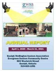 GWSA 2020-21 Annual Report