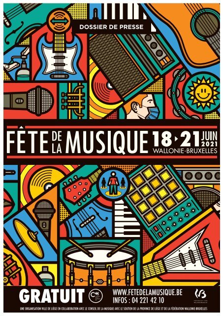 Dossier presse - Fête de la Musique à Liège 2021