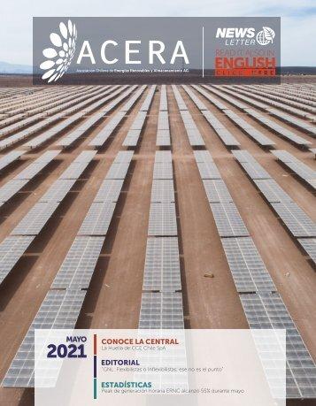 Newsletter ACERA - Mayo 2021