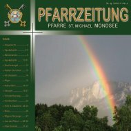 Pilger- und Kulturfahrt mit der Pfarre St. Michael ... - pfarre-mondsee