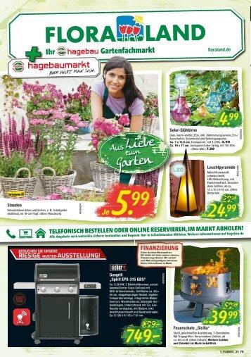 Hagebaumarkt + Floraland | KW 24