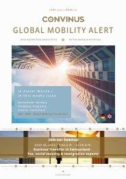 CONVINUS Global Mobility Alert Week 23