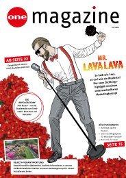 ONE Magazine Trixi DE 01/2021
