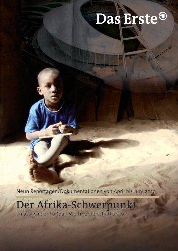 Der Afrika-Schwerpunkt Der Afrika-Schwerpunkt - WDR.de