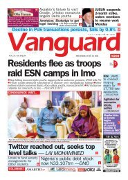 10062021 - Residents flee as troops raid ESN camps in Imo