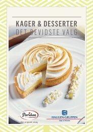 Kager og desserter - Det bevidste valg