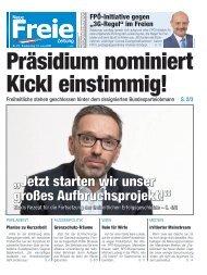 Präsidium nominiert Kickl einstimmig!