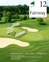 Download Fairway 12 als PDF - Golfclub Eichenried