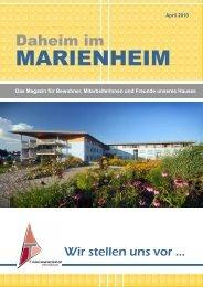 Frau Maria Sommerhuber - Alten- und Pflegeheim Marienheim